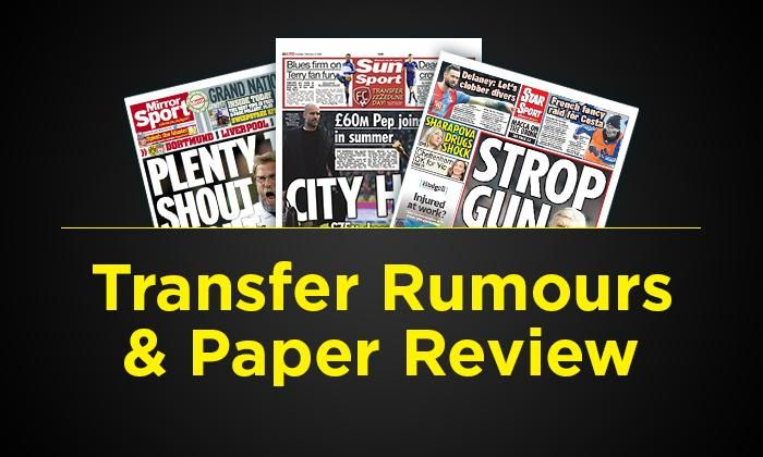 #rumors  Transfer rumours and paper review – Sunday, September 25: Klopp wanted, West Ham set for shock Chelsea star bid, plus more