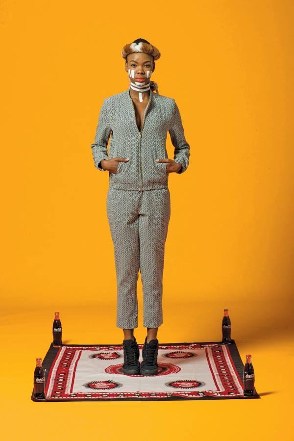 Amanda Laird Cherry pants suit
