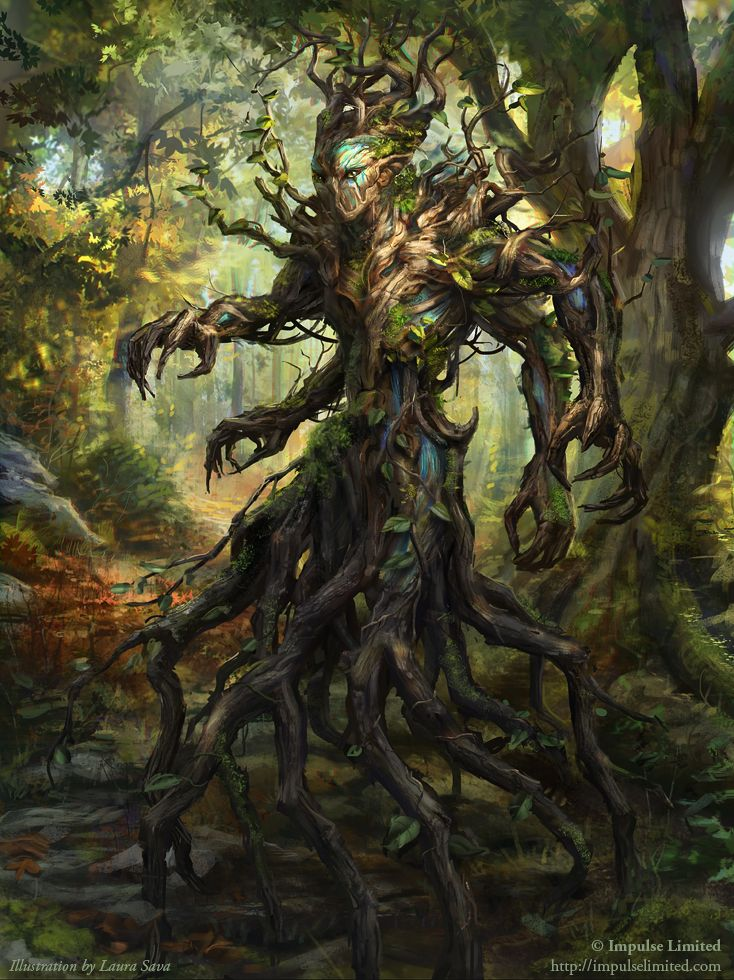 Forest creature by anotherwanderer.deviantart.com on @DeviantArt illustrated by Laura Sava impulse limited