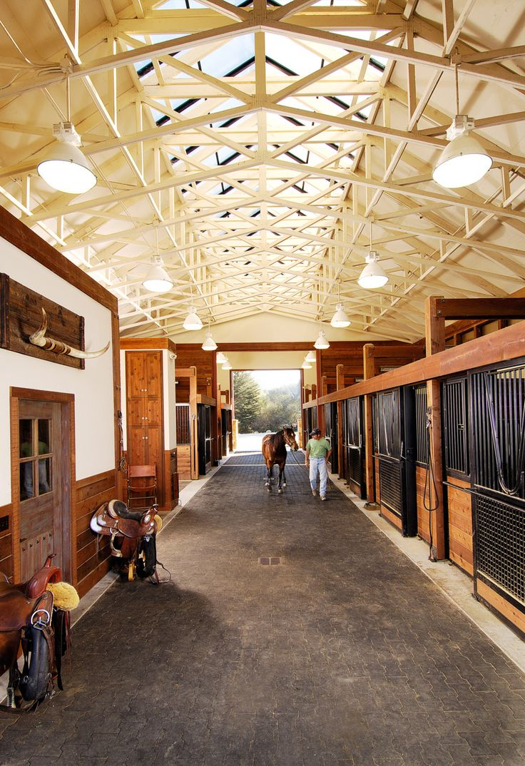 Inside Horse Barn 114 best barn style images on pinterest | dream barn, horse stalls