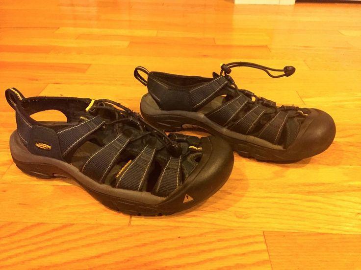 Men's Keen Newport Blue Waterproof Sports Hiking Water Sandals Size 9  #KEEN #SportSandals