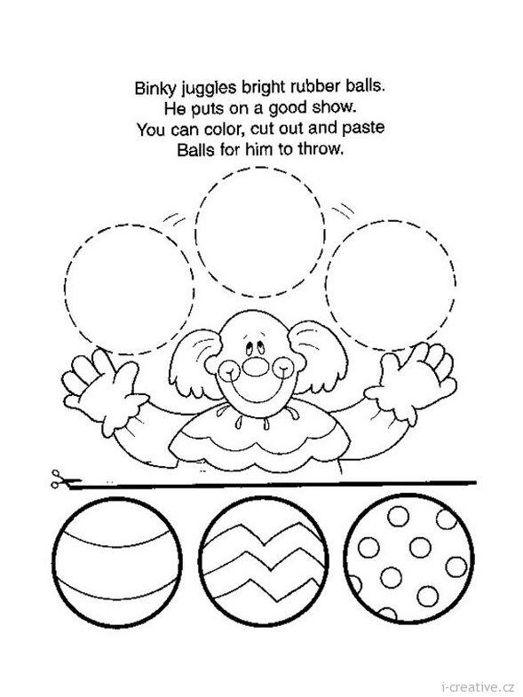 předškoláci a školáci - nácvik stříhání