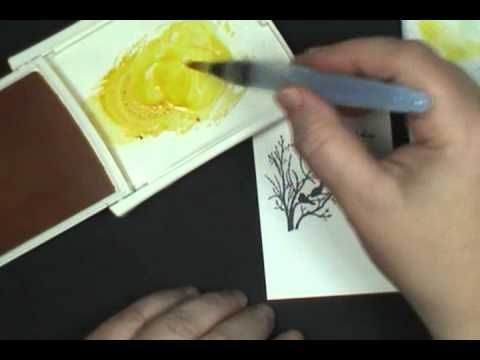 Get out your AquaPainters for today's easy Watercolor Wash 10 Minute Tuesday video.  Where I make a card, start to finish!  Great for beginners and experienced alike.    For full supply list, visit:  http://dostamping.typepad.com/dostamping_with_dawn/2012/10/10-min-tues-video-watercolor-wash-stampin-up-serene-silhouettes.html      To purchase Stampin...