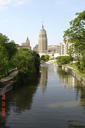 Tower Life Building in downtown San Antonio, Texas