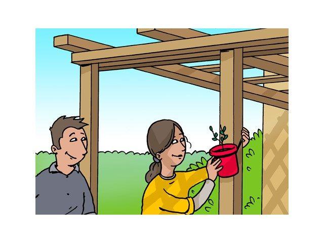 Comment fabriquer soi-même une pergola ? - Bois de jardin - Livios