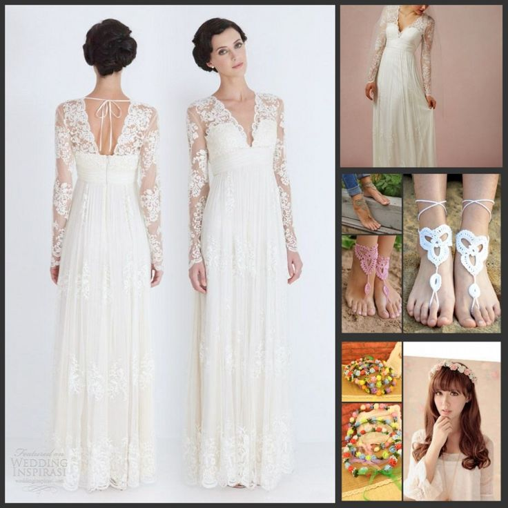 dress models for women Picture – More Detailed Picture about Simple A line Lace Long Sleev ...