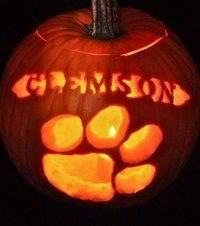 Clemson pumpkin  | Goodfella's Grill and Bar is an American restaurant located in Lexington, SC that carries everything from burgers to wings to choice cut steaks and even nightly features! Call (803) 951-4663 or visit https://www.facebook.com/goodfellasgandb for more information!