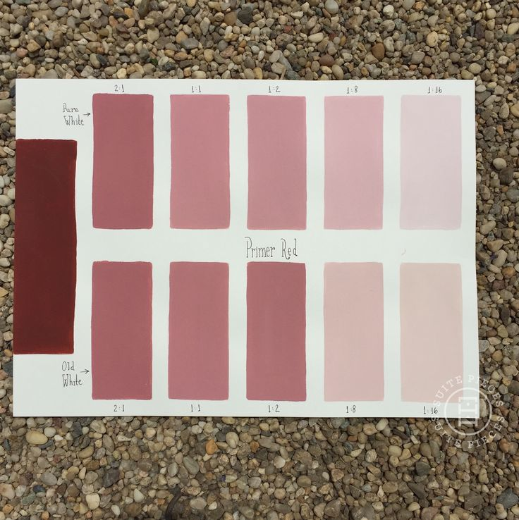 CP Tone Chart-Primer Red
