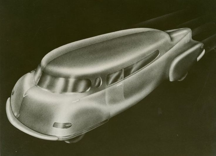 Raymond Loewy envisions the future of transportation | Hemmings Daily