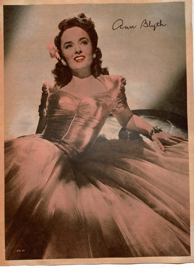Ann blyth foto vintage