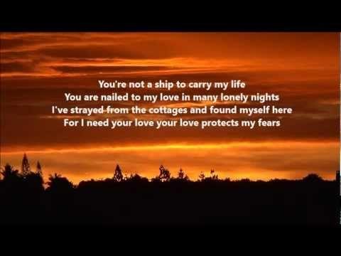 I Need You To Turn To by Elton John with lyrics