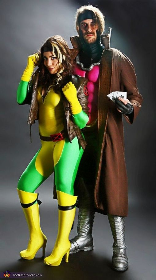 X-Men: Rogue   Gambit - Paired Halloween Costume Ideas