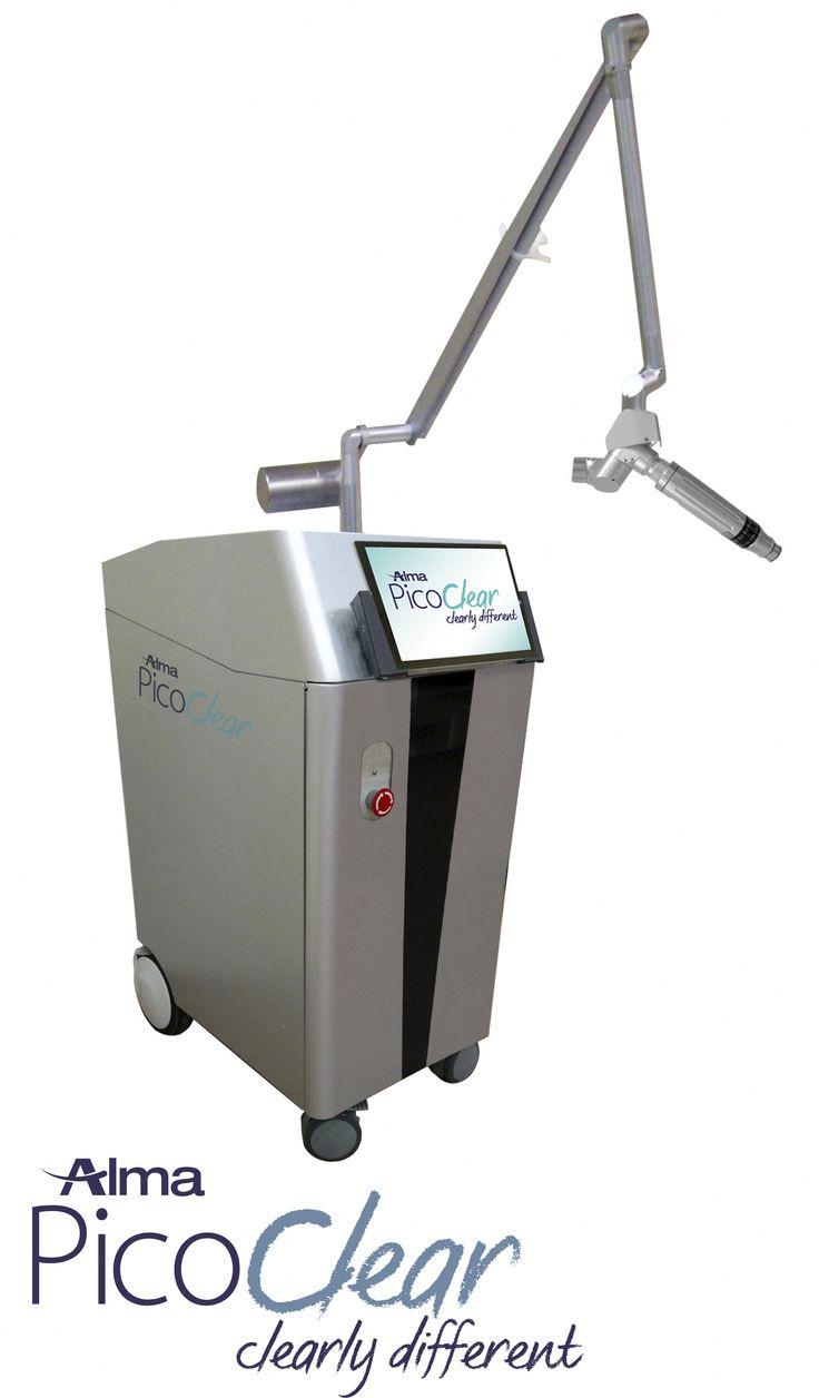 Picoclear laser removal of multicolors tattoos alma