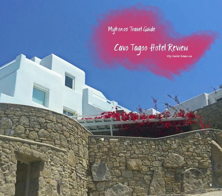 Cavo-Tagoo Hotel Reviews.  Luxury hotels in Mykonos.