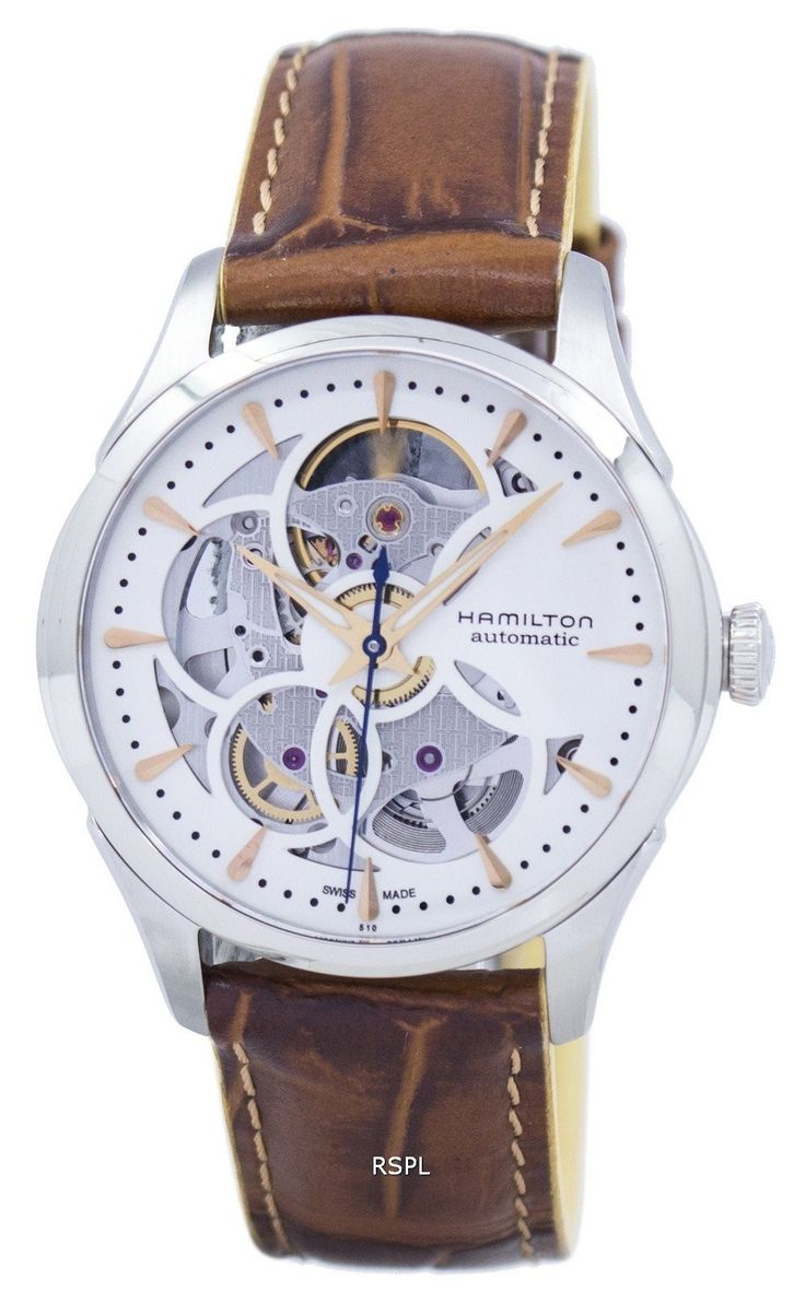 #Hamilton #Jazzmaster Viewmatic Skeleton Automatic H32405551 Women's Watch