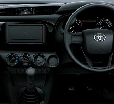 All New Hilux S Cab - Mobil Niaga Terbaik - AUTO2000 - Zooming front Desk interior look