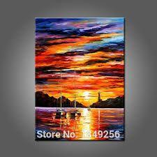 Resultado de imagen para pinturas abstractas de amaneceres