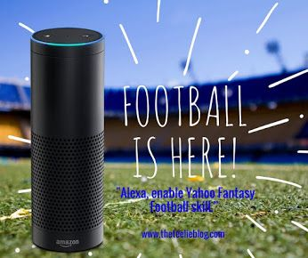 "If you live for your fantasy football updates, Alexa is here to help. Link your Yahoo Fantasy Football league with the new Alexa skill to get your team's weekly matchup and score, its injury and bye status, and player scores and injury updates. To get started, enable the skill by saying, ""Alexa, enable Yahoo Fantasy Football skill.""   www.teelieturner.com #alexaskills"