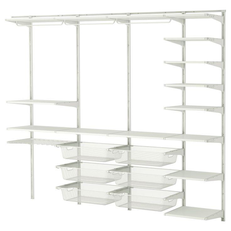 Regalsystem wandschiene ikea  49 besten Storage Bilder auf Pinterest | Ankleidezimmer, Ikea ...