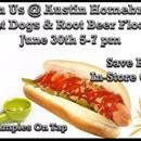 🍻Hot Dogs, Root Beer Floats and Big Savings, Join us!🍻 #homebrewing #homebrewsale  Join us June 30th between 5-7 pm and have a hot dog (or two) with us while sipping an authentic Sprechers Root Beer Float! Plus we have some great in-store only sales that you won't want to miss.http://eepurl.com/cTFjgf    #homebrewing     www.austinhomebrew.com