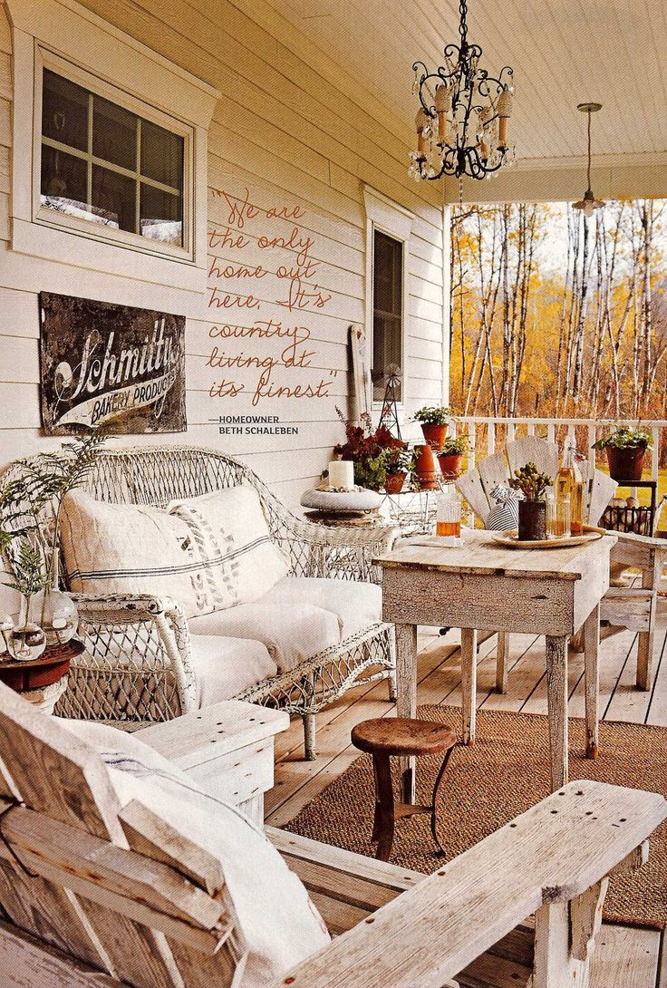 17 best images about porches on pinterest gardens posts for Flea market home decor