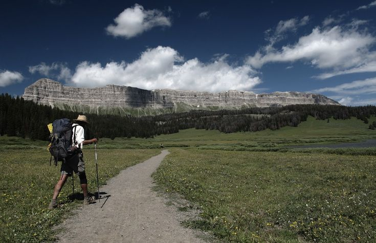 "Continental Divide Trail 2 - According to Wikipedia, ""only about two dozen people a year attempt to hike the entire trail, taking about six months to complete it."" Photo: asafantman"