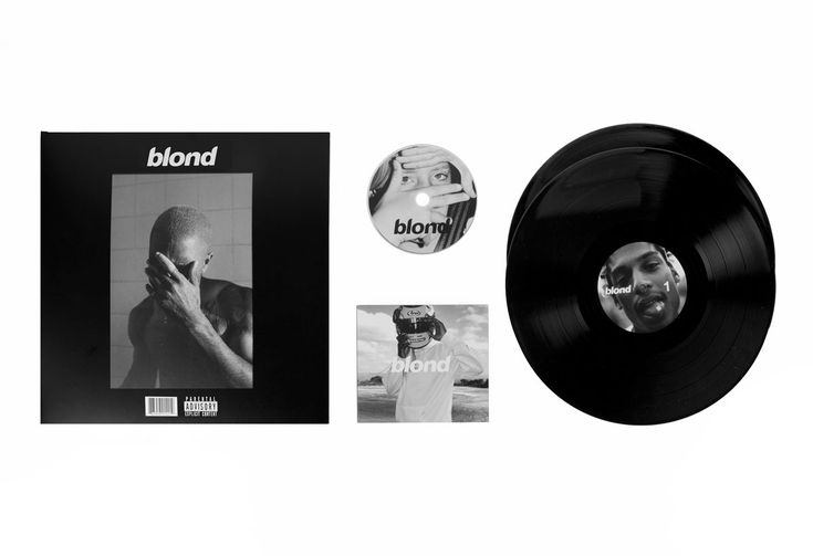 Blond vinyl, released through XL on Black Friday