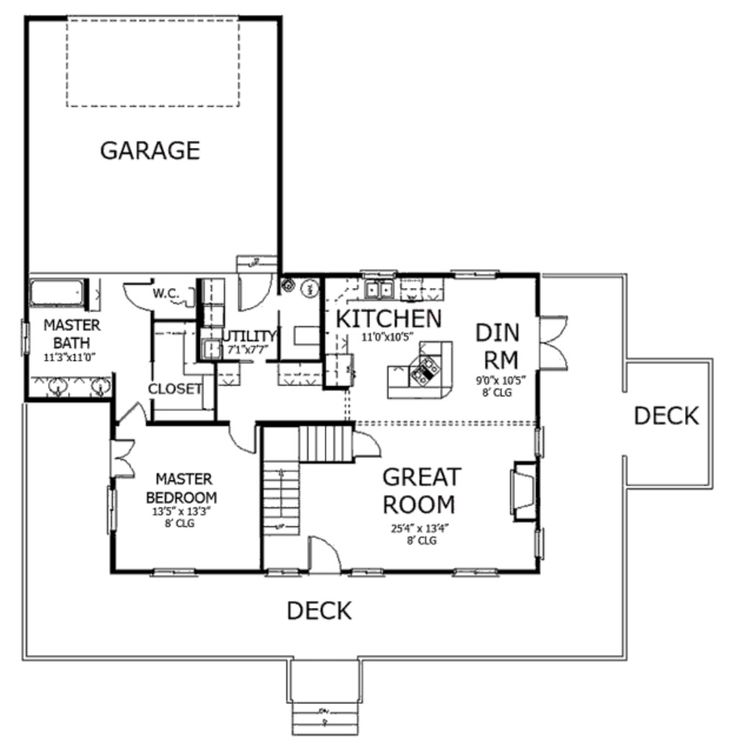 House Plan For 39 Feet By 57 Feet Plot Plot Size 247: 108 Best Images About Floor Plans On Pinterest