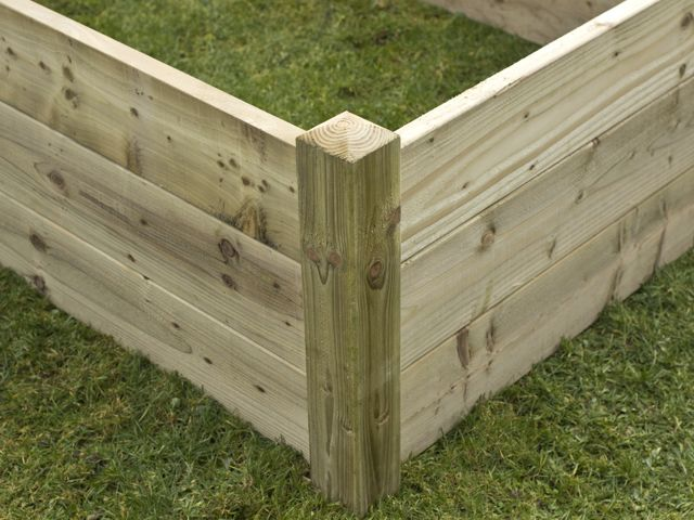 Genial These Kits Make The Ideal Raised Vegetable Garden, This Is The Corner Of An  Extra Tall Deluxe Raised Bed Kit