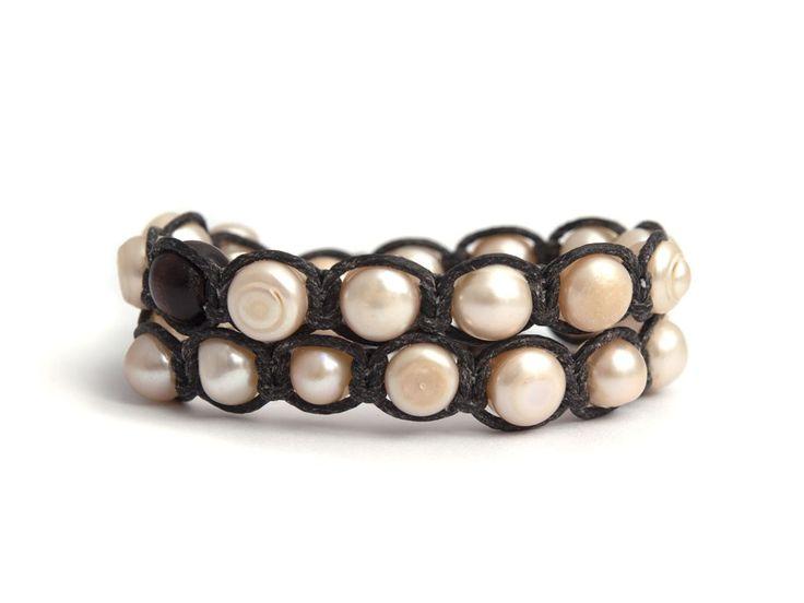 White Tibetan Bracelet For Woman