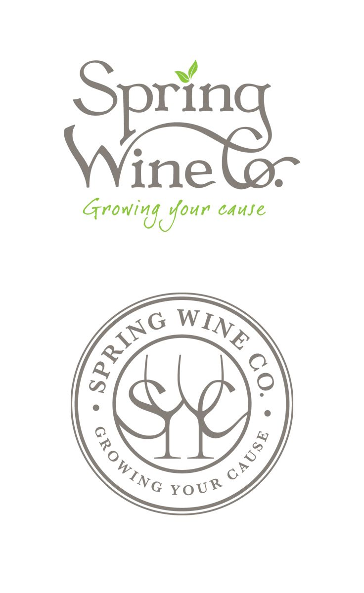 Spring Wine Co.   Identity   by designthis!
