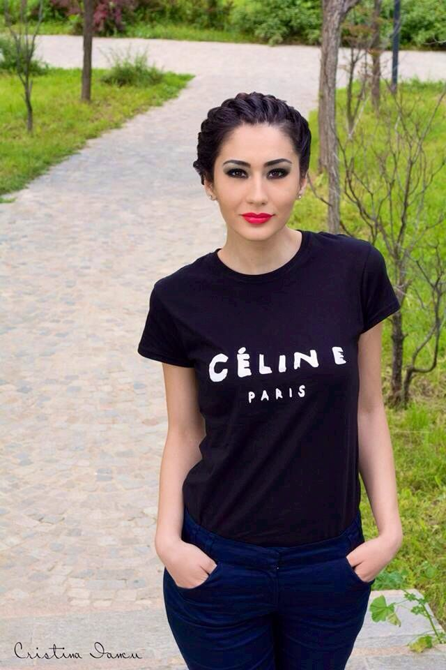 #celine #loveit #black #tshirt #gorgeous #fashion#powwowchic