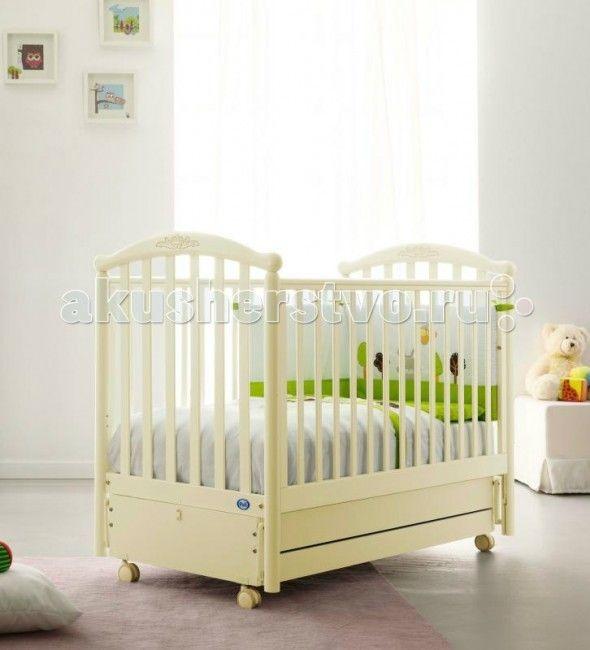 Детская кроватка Pali Giulia (продольный маятник) - Magnolia