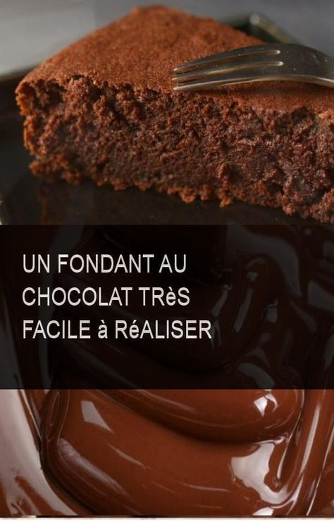 Ein sehr einfacher Schokoladenfondant #Chocolat #Easy #Tresfacile   – Recettes d'ici et d'ailleurs