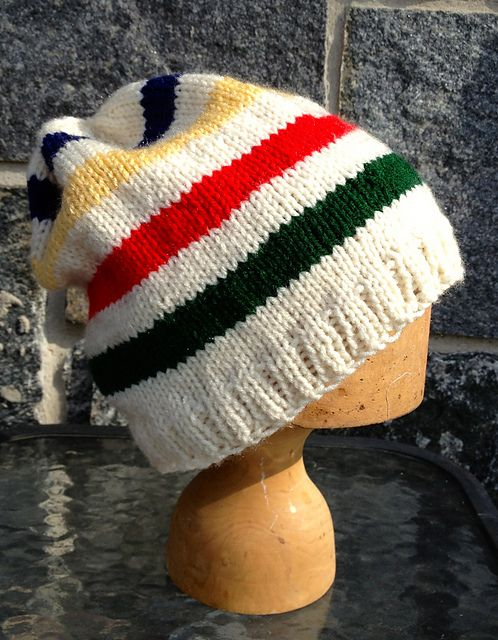 Ravelry: I Wear A Toque, Slouch Hat pattern by Double Diamond Knits