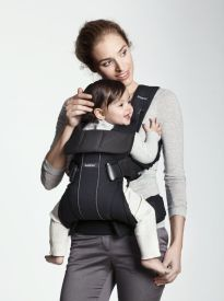 BabyBjorn Carrier One (~$94 on sale): *NEW from BabyBjorn* Love this carrier! VERY easy to convert from front to back carry. Lots to say about it at http://www.lucieslist.com/baby-registry-basics/best-soft-structured-baby-carriers/#carrierone