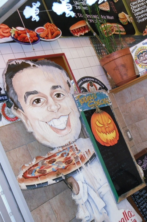 Pizza! Halloween, 28th & 7th Ave, NYC, 2012 Store fronts