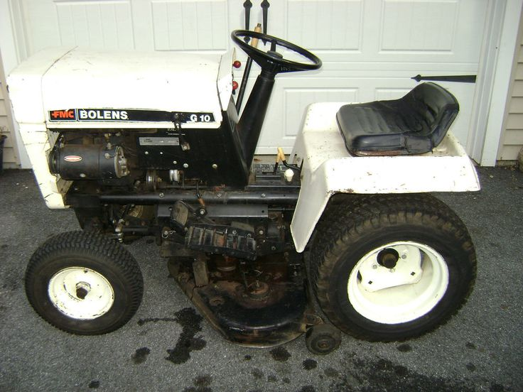 1965 Gravely 4 Wheel Tractor : Vintage fmc bolens g model no tractor with