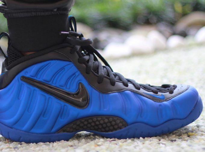 The Nike Air Foamposite Pro Hyper Cobalt Drops This Summer