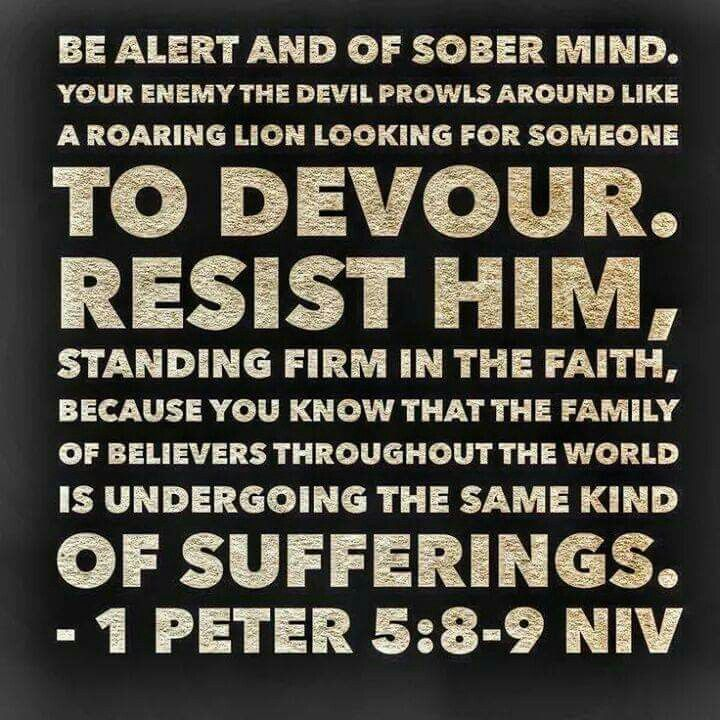 Be aware of what satan is trying to sneak into your life. Certain people will bring you down into a life of sin.  Dont fall for it.  God will let you in on the truth.