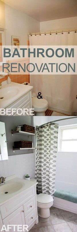 1000 Ideas About Old Bathrooms On Pinterest Small Bathrooms Decor How To Paint Tiles And