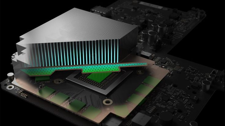 Xbox Scorpio Water Cooling System & Great Power Efficiency