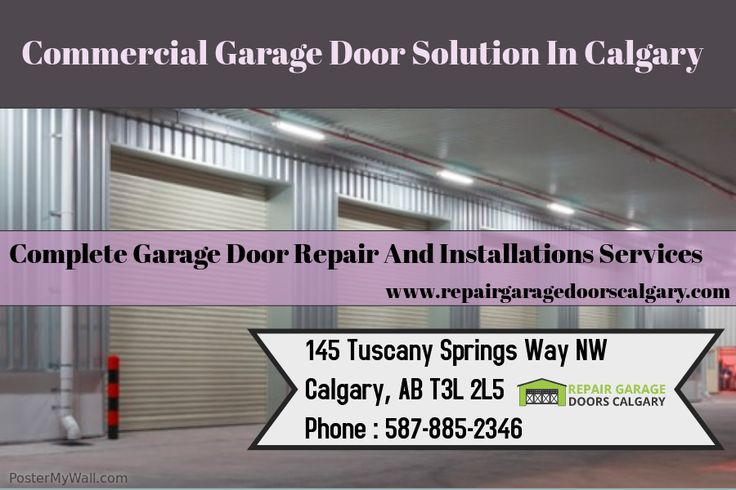 Repair Garage Doors Calgary offers durable commercial garage door solution to make your commercial sites more useable. Our team consist of dedicated professionals and aimed to solve all your commercial garage door issues. Visit http://www.repairgaragedoorscalgary.com/residential-commercial-garage-door/ to know more about our services.