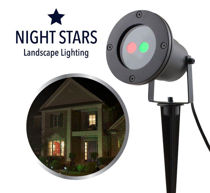 Night Stars Landscape Lighting zijn decoratieve laser projectors die ideaal zijn voor binnen en buiten! U kunt de projector makkelijk plaatsen in uw tuin, binnenshuis, bij de schuur of onder de veranda. Ook erg leuk om te gebruiken op een dansvloer of bij een zwembad.