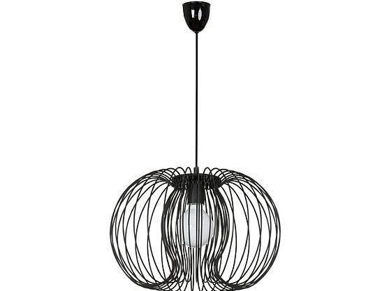 Stilvolle Hängellampe Ø44cm schwarz Hängeleuchte für Wohnzimmer Schlafzimmer kaufen bei Hood.de