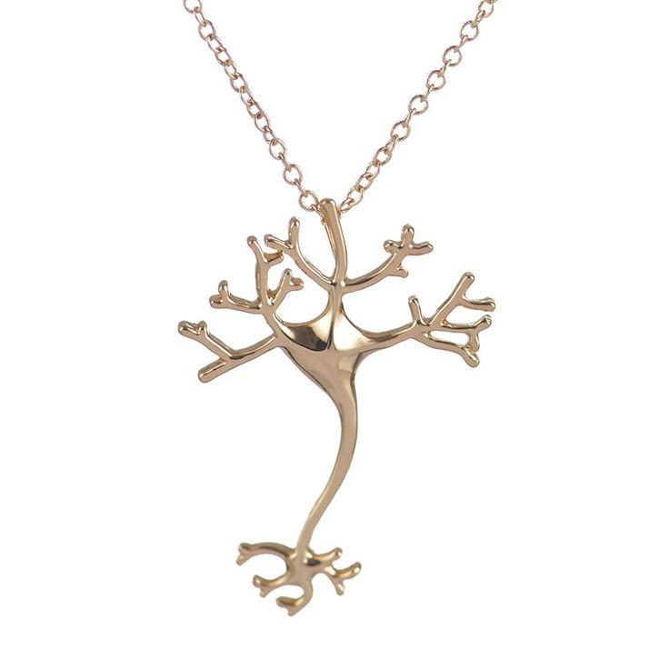 yiustar 2016 Fancy Long Chain Necklace Hippie Chic Neuron Brain Nerve Cell Necklace Colar Boho Neuron Collier Femme XL197