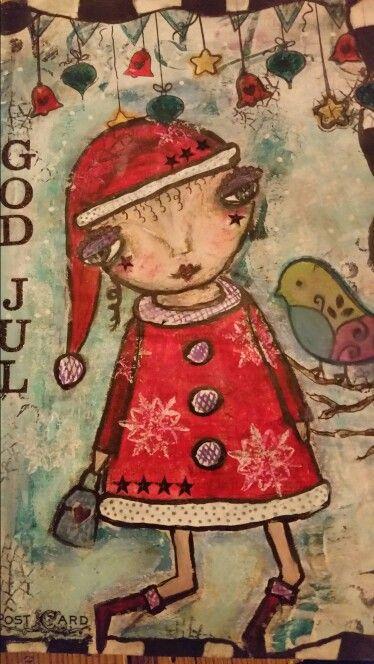 Lille Happy Julefin