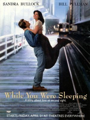 While You Were Sleeping movie #Movie Posters| http://cinematicmovieposters643.blogspot.com