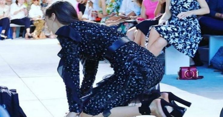 Την ματιάσανε την Bella Hadid – Δείτε την απίστευτη τούμπα της σε επίδειξη μόδας Crazynews.gr
