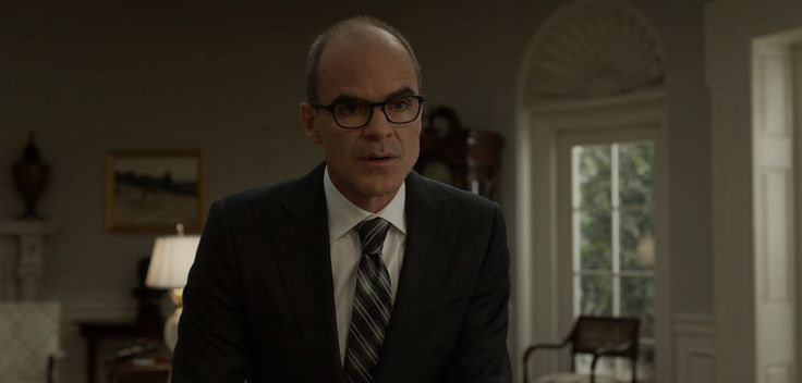Original Penguin glasses worn by Michael Kelly in HOUSE OF CARDS (2017)